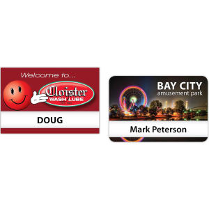 Promotional Name Badges-ORL07