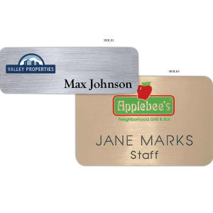 Promotional Name Badges-HOLS1