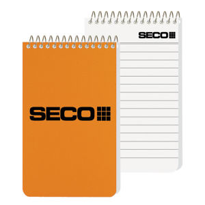 Pocket coil notebook with
