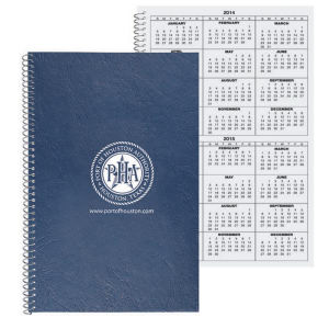Leatherette flex cover notebook