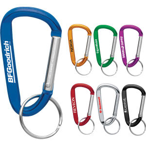 Carabiner, 6mm, with split