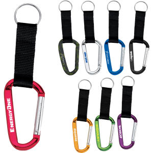 Aluminum 8mm carabiner with