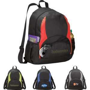 Non-woven polypropylene backpack with