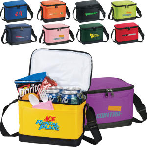 Six pack insulated lunch