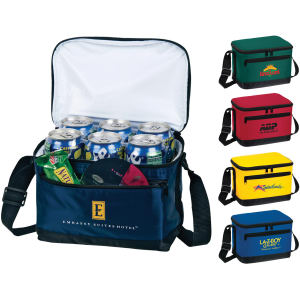 Deluxe 6-pack insulated bag.