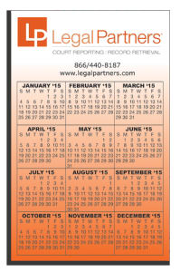 Promotional Magnetic Calendars-W-M118
