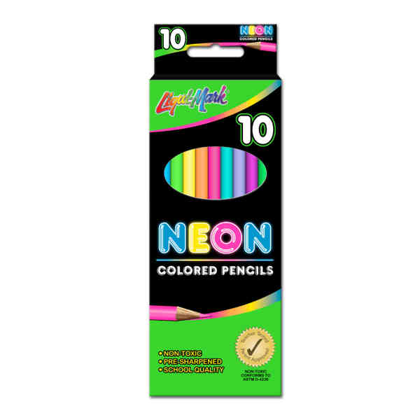 10 Pack Colored Pencils