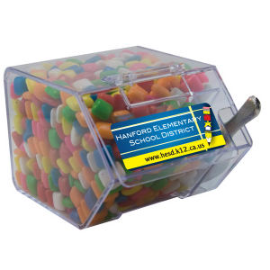 Large candy dispenser house