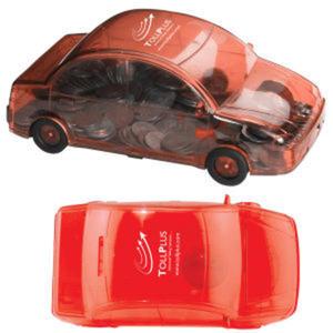 Car shape saving bank.