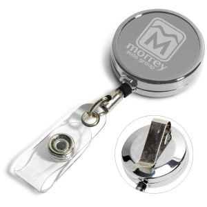 Promotional Retractable Badge Holders-RBRM2LOP