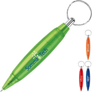 Promotional Plastic Keychains-