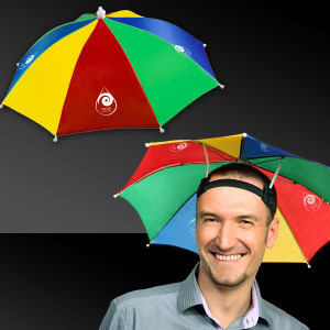 Our multi color umbrella