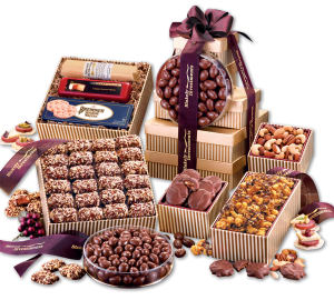 Promotional Gourmet Gifts/Baskets-GS852-Food