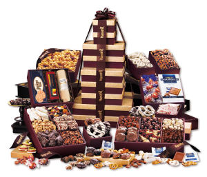 Promotional Gourmet Gifts/Baskets-BG1537-Food