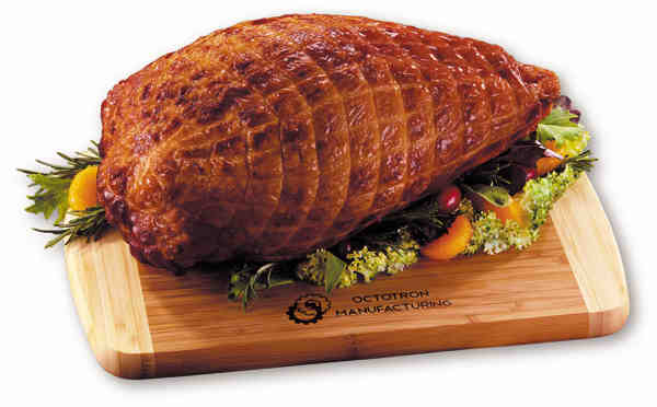 smoked turkey breast with