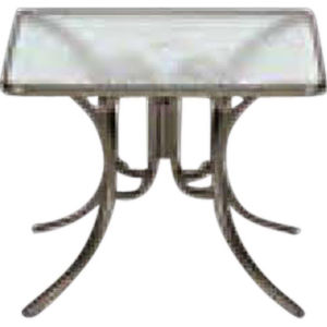 Glass top dining table,