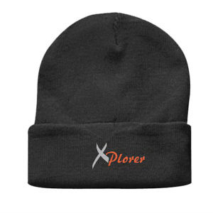 Promotional Knit/Beanie Hats-HB-3501BK