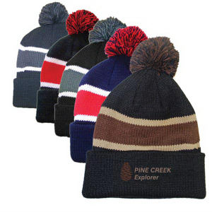 Promotional Knit/Beanie Hats-HB-3552B