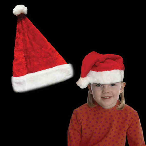 Plush Santa Claus hat