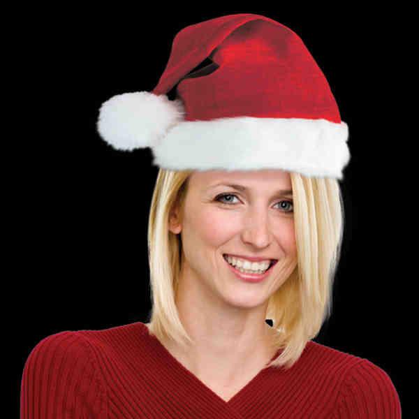 Plush Santa Claus Hat.