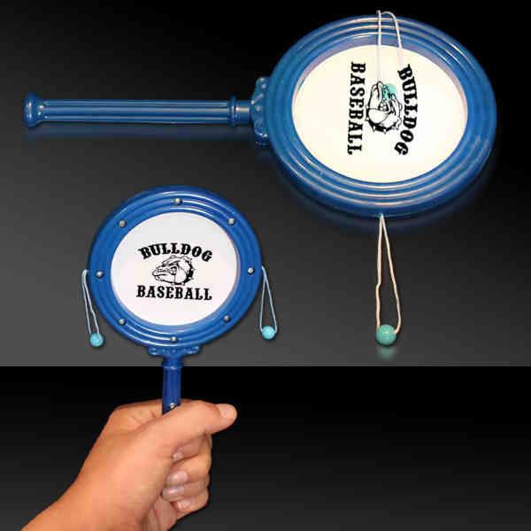 Blue plastic noise drum
