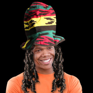 Rasta Costume Novelty top