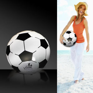 Inflatable soccer ball, 16