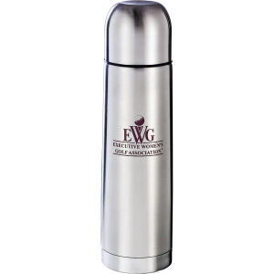Silver stainless steel insulated