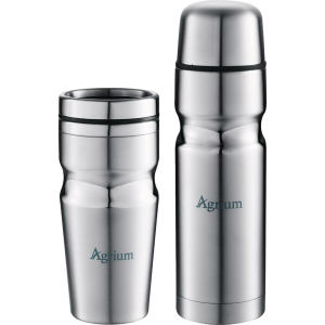 Insulated band bottle and