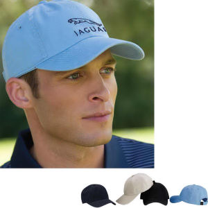 Cap features 100% polyester,