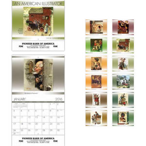 Promotional Wall Calendars-2001 PC961