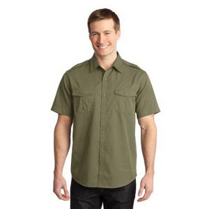 Promotional Button Down Shirts-S648