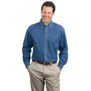 Promotional Button Down Shirts-S100