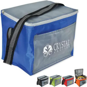 Promotional Picnic Coolers-CHROM6PK