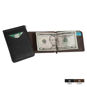 Slim line wallet with