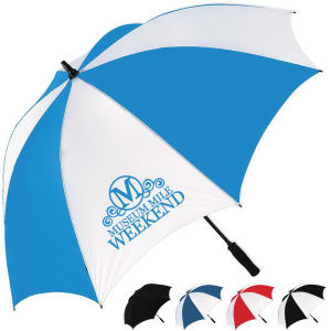Golf umbrella with graphite