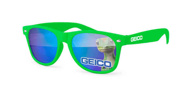 Mirrored Sunglasses with full-color