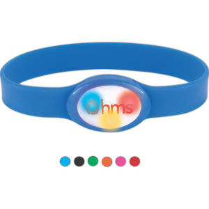 Flashing flex lighted bracelet.