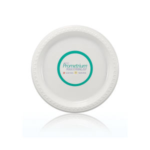 Promotional Table & Plate Accessories-T-PLP9-WHITE