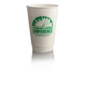 Promotional Paper Cups-T-IPC16-White