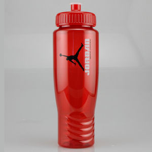 Promotional Sports Bottles-T-B11-RED