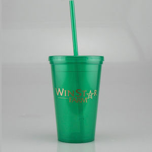 Promotional Drinking Glasses-T-DW10-Green