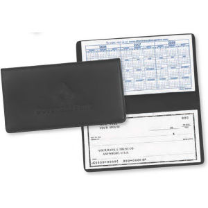 Exec-U-Line - Leather checkbook