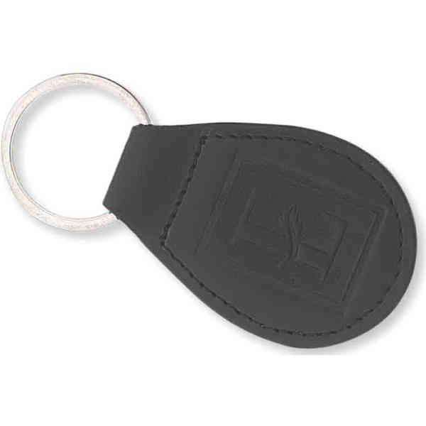 Padded bonded leather key