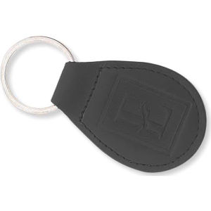 Padded bonded leather key