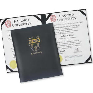 Exec-U-Line - Leather certificate