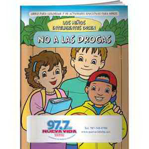 Promotional Coloring Books-CB1007s
