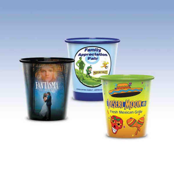 9oz-Reusable Clear Plastic Cup-Hi-Definition