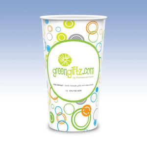 Reusable White Plastic Cup-44oz-Hi-Definition