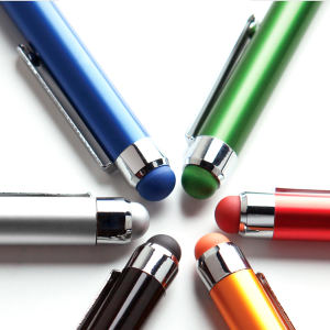 Metal ballpoint pen with